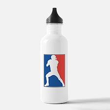 FOOTBALL *26* {red/white/blue Water Bottle