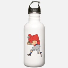 FOOTBALL *19* {red/gray} Water Bottle