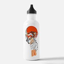 FOOTBALL *13* {orange} Water Bottle