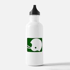 FOOTBALL *8* {green} Water Bottle