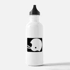 FOOTBALL *8* {black} Water Bottle