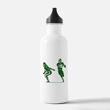 FOOTBALL *7* {green} Water Bottle