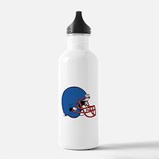 HELMET *2* {blue/red} Water Bottle