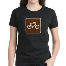 Bicycle Trail Sign Tee