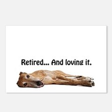 Greyhound Retired Postcards (Package of 8)