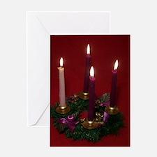 Cute Advent Greeting Card