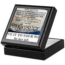Unique Mattie Keepsake Box