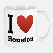 I Love Houston Mug