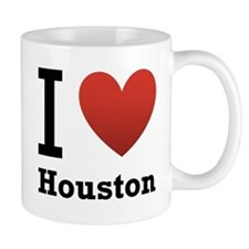 I Love Houston Mug