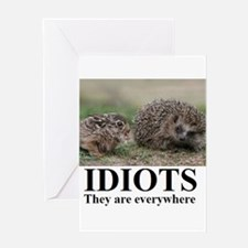 Unique Funny motivational Greeting Card