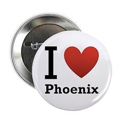 "I Love Phoenix 2.25"" Button (100 pack)"