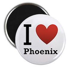 I Love Phoenix Magnet