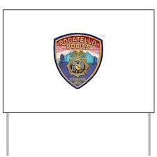 Pocatello Police Yard Sign