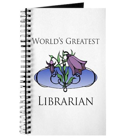 World's Greatest Librarian (Flower) Journal