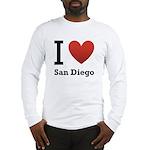 I Love San Diego Long Sleeve T-Shirt