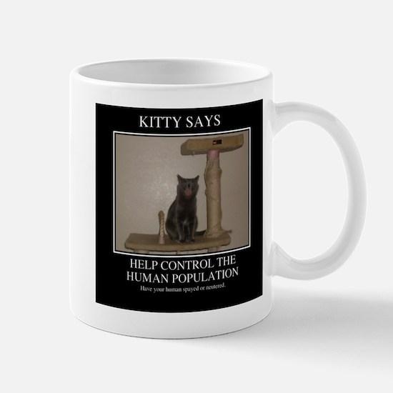 KITTY SAYS Mug