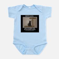 KITTY SAYS Infant Bodysuit