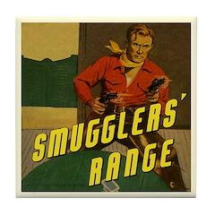 The GUNSLINGER Tile Coaster
