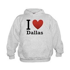 I Love Dallas Hoodie