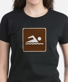 Swimming Sign Tee