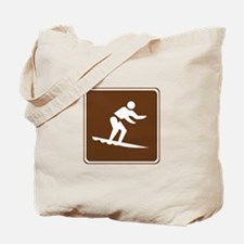 Surfing Sign Tote Bag