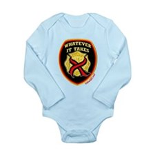 ThinRedLine WhateverItTakes Long Sleeve Infant Bod