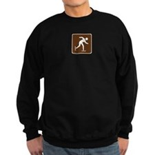 Ice Skating Sign Sweatshirt