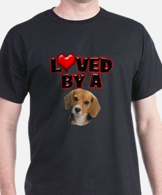 Loved by a Beagle T-Shirt