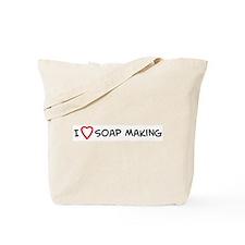 I Love Soap Making Tote Bag
