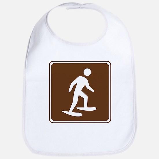 Snow Shoeing Sign Bib