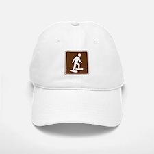 Snow Shoeing Sign Baseball Baseball Cap
