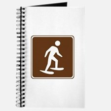 Snow Shoeing Sign Journal