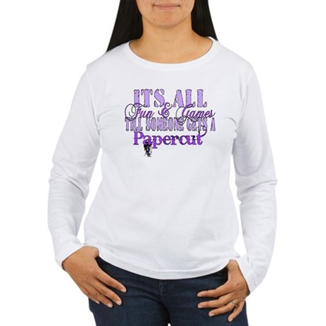 Papercut Women's Long Sleeve T-Shirt