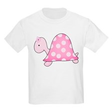 Pink Girly Turtle T-Shirt