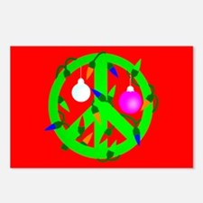 Peace For Christmas Postcards (Package of 8)