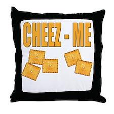 Cheez-Me Throw Pillow