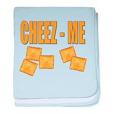 Cheez-Me baby blanket