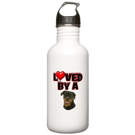 Loved by a Rottweiler Stainless Water Bottle 1.0L