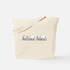 Vintage Falkland Islands Tote Bag