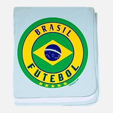 Brasil Futebol/Brazil Soccer baby blanket