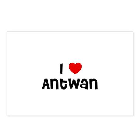I * Antwan Postcards (Package of 8)