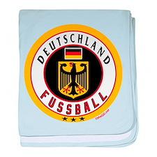 Germany Soccer/Deutschland Fussball baby blanket