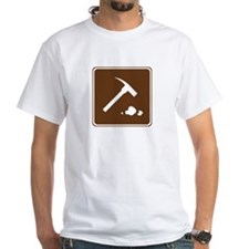 Rock Collecting Sign Shirt