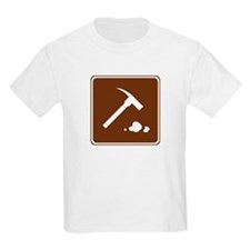 Rock Collecting Sign T-Shirt