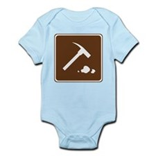 Rock Collecting Sign Infant Bodysuit