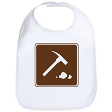 Rock Collecting Sign Bib