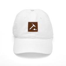 Rock Collecting Sign Baseball Cap