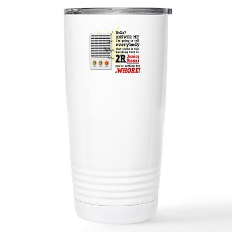 Janice Rossi Stainless Steel Travel Mug