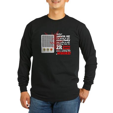 Janice Rossi Long Sleeve Dark T-Shirt
