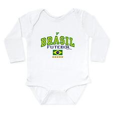 Brasil Futebol/Brazil Soccer/Football Long Sleeve